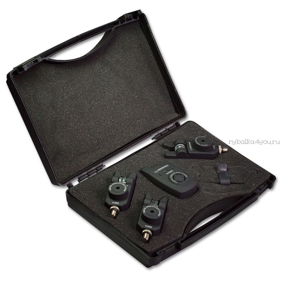 Набор Kosadaka W88S радио сигнализатор 3шт + пейджер