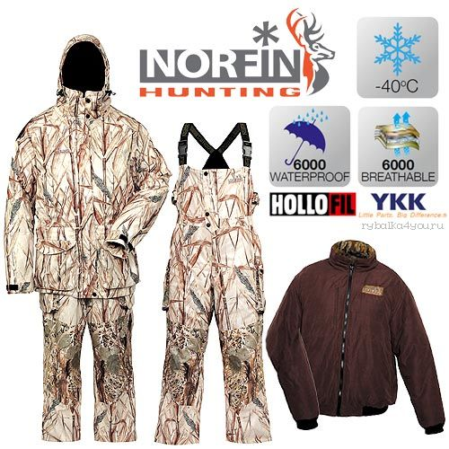 Костюм зимний Norfin Hunting NORTH RITZ