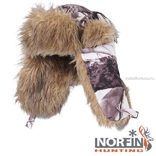 Шапка-ушанка Norfin Hunting 750 White