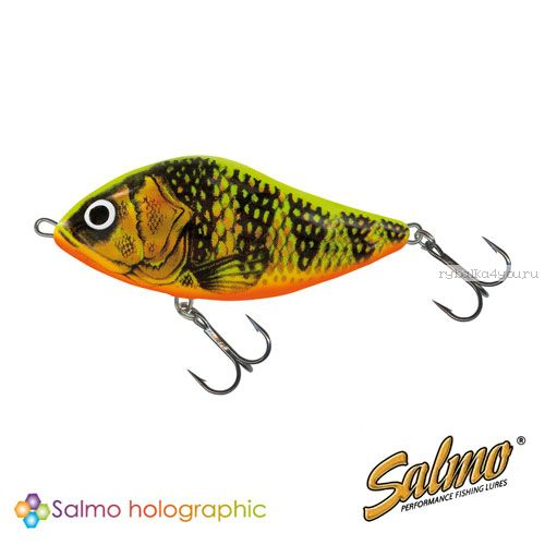 Воблер Salmo SLIDER S 60 цвет GFP / до 1 м