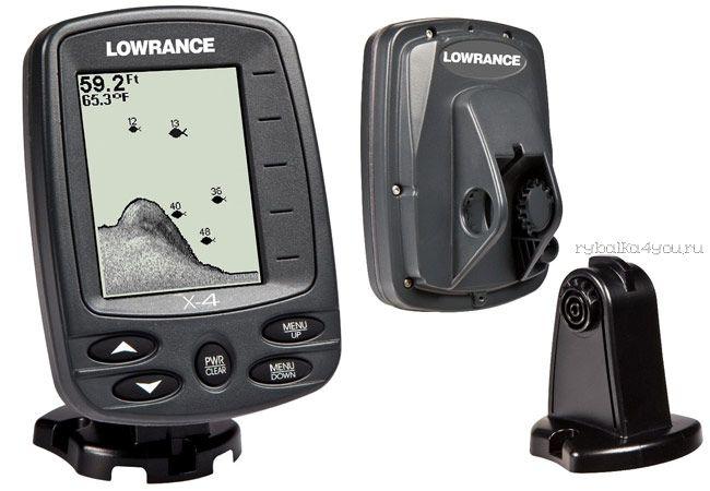 Эхолот Lowrance X-4