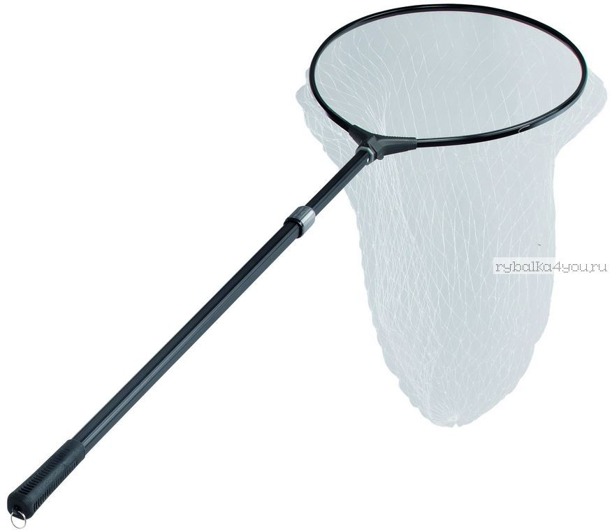 Подсак Sert (ЛЕСКА) жесткий / 2 секции / Рукоять 220 см. / 60х50 см.