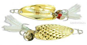 Блесна Kosadaka Pin Spoon 29мм /  2 грамм /  Gold