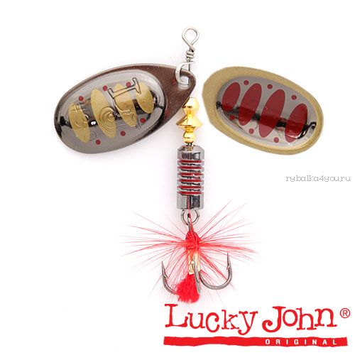 Блесна вращающаяся Lucky John BONNIE BLADE  2,7г 005 в блистере