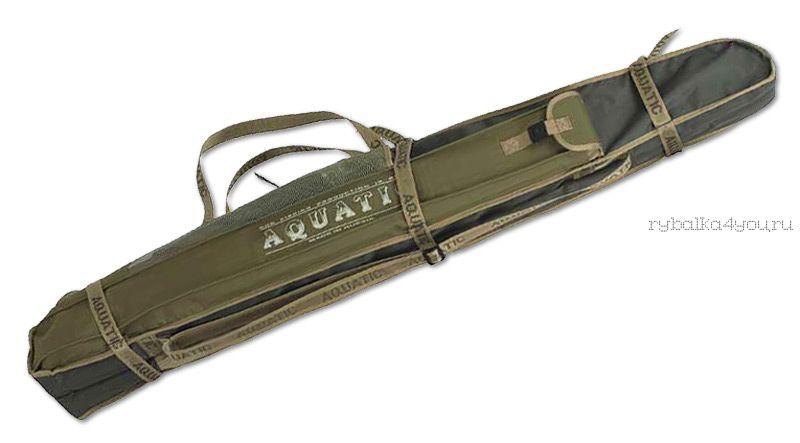 Чехол Aquatic мягкий для удочек Ч-10 длина 160см