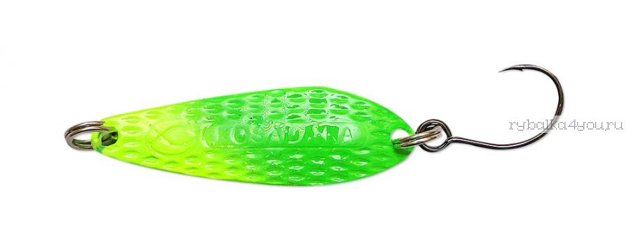 Блесна Kosadaka Micron (одинарный крючок) 41 мм / 6 гр / цвет LR