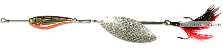 Блесна Kosadaka Quant V2 №4 17гр / цвет SB-Silver