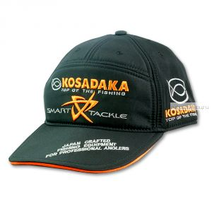 Бейсболка Kosadaka Smart Tackle (черная)