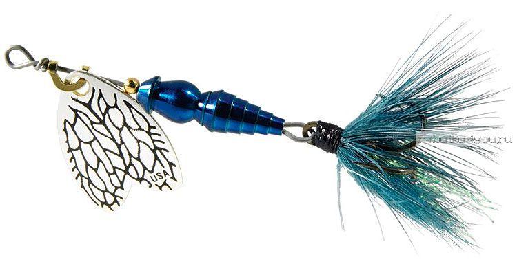 Блесна Mepps Bug Iron blu №0 (2,5 гр)