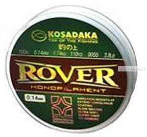 Леска Kosadaka Rover 100 м / 0,12 мм / 1,32 кг