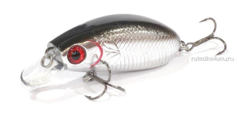 Воблер Aiko BABAI 50F 004-цвет 50мм / 7.5гр / 0.2-0.6м / плавающий