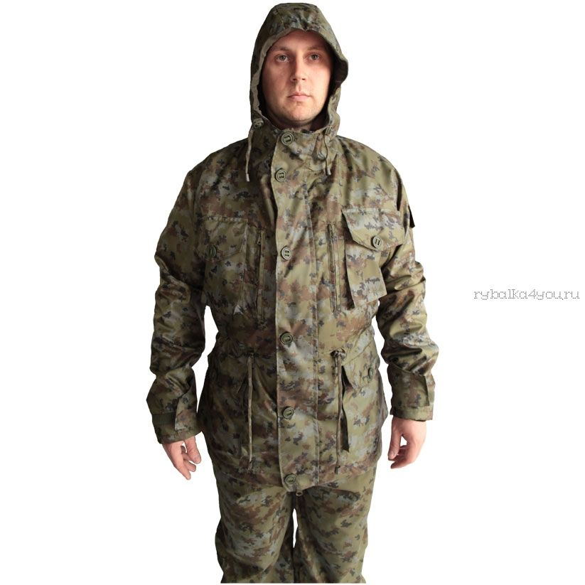 """Костюм демисезонный """"Тайга-2""""(на флисе) куртка/брюки, ткань Oxford,флис"""