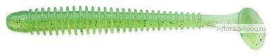 """Виброхвост Keitech Swing Impact 4,5"""" 11,4 см / 8,9 гр / цвет - 424 Lime Chartreuse(упаковка 6 шт)"""