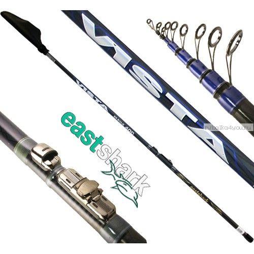 Удочка с кольцами EastShark Vista 600 ( 6 метров, 10-45гр)