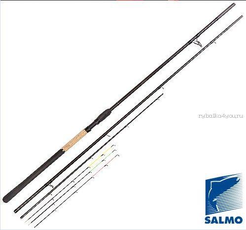 Фидер Salmo Diamond FEEDER  3.90 м / тест до 120 гр (4022-390-2)