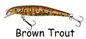 Воблер D.A.M. Appetizer 70 SR 70мм / 4.4 гр / цвет: Brown Trout