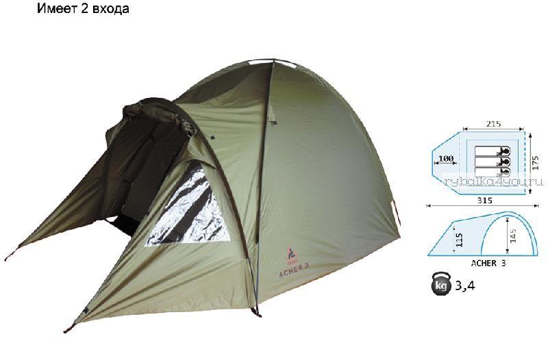 Палатка Reisen Acher 3 (olive)