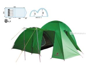 Палатка Reisen Havitz 5 (woodland)