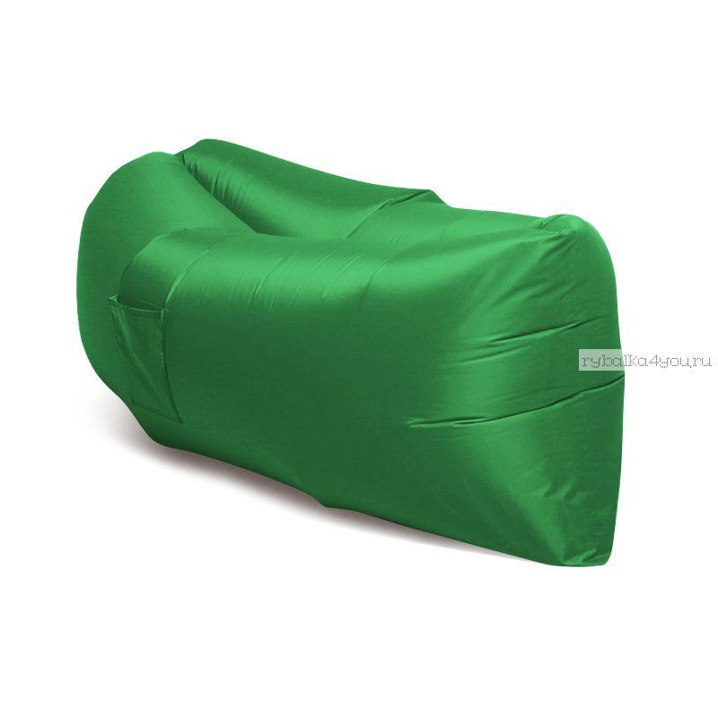 Надувной шезлонг - гамак Lamzac (Зеленый)