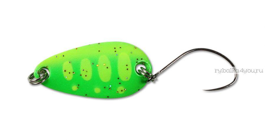 Блесна Jackall Chibi Tearo 1.7G 19 мм / 1,7 гр / цвет:  lime yamame