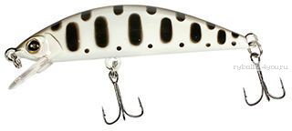 Воблер Jackall Tricoroll 67HW  67 мм / 6,3 гр /плавающий / цвет: white & black yamame