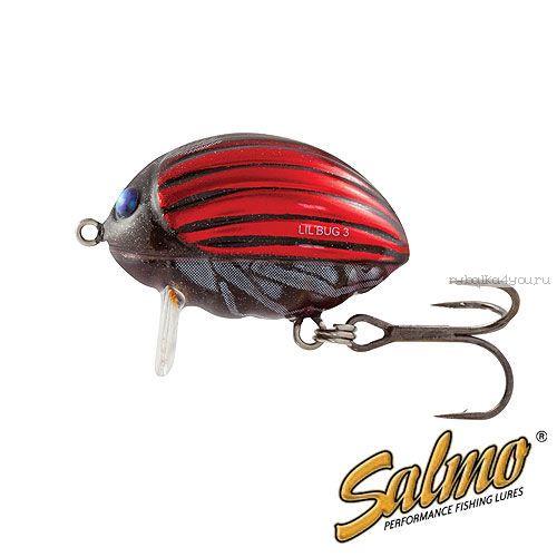 Воблер Salmo Lil Bug F 03-BBG/ 30 мм / плавающий / 4.3 гр / до 0,3 м / цвет: BBG