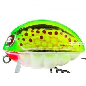 Воблер Salmo Bass Bug F / 55 мм / плавающий / 26 гр / до 0,5 м / цвет: GB