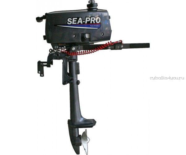 Подвесной лодочный мотор 2-х тактный SEA-PRO T2,5S / 2,5 л.с. / 10 кг.