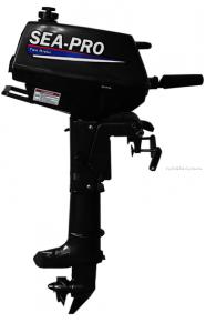 Подвесной лодочный мотор 2-х тактный SEA-PRO T3S / 3 л.с. / 16 кг.