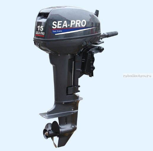 Подвесной лодочный мотор 2-х тактный SEA-PRO T 15S / 15 л.с. / 36 кг.
