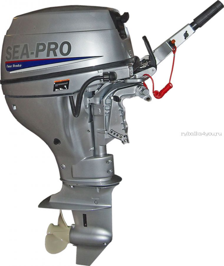 Подвесной лодочный мотор 4-х тактный SEA-PRO F 9.9S 9,9 л.с. / 39 кг.