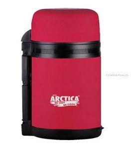 """Термос """"Арктика"""" с широким горлом 203-800 (универсальный, с резин. напылением, розовый 800 мл)"""