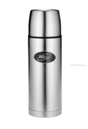 Термос BIOSTAL Охота NBP-1000B с ручкой (узкое горло) с чехлом 1 л