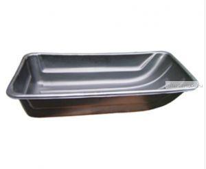 Сани рыбацкие (пласт. корыто) № 9 1205х600х260 черный (арт.43557)