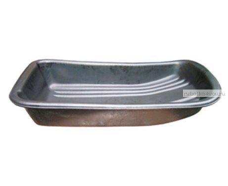 Сани рыбацкие (пласт. корыто) №10 890х465х165 черный (арт.23010)