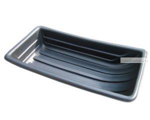 Сани рыбацкие (пласт. корыто) №11 1100х540х230 черный (арт.43554)