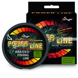 Шнур плетеный  Stinger PowerLine 125 м / цвет: Fr.Green