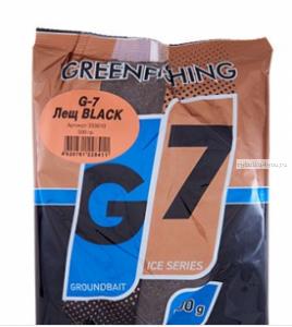 Прикормка Greenfishing G7 Ice Лещ черный 500 гр
