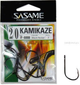 Крючок Sasame Kamikadze F- 888 упаковка 7 шт