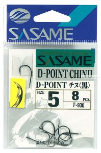 Крючок Sasame D-Point Chinu F-930 упаковка 9 шт