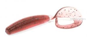 """Твистеры Aiko Curly Tail F 2"""" 50 мм / 1,2 гр / запах рыбы / цвет - 001-Dark Blood  (упаковка 10 шт)"""