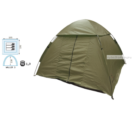 Палатка Reisen Waller 3 (olive)
