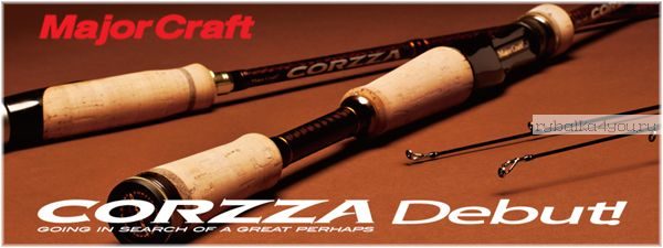 Кастинг Major Craft Corzza CZC-662M 1.99м / тест 7-21гр