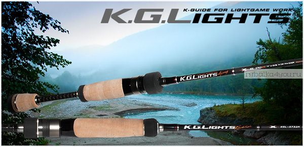 Кастинг  Major Craft K.G.LIGHTS KGL-682M/B  2.04м / тест 10-35гр
