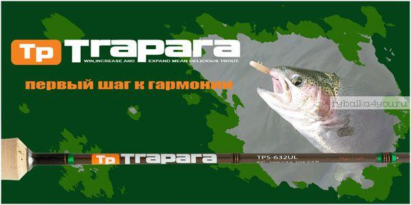 Спиннинг  Major Craft Trapara TPS-802MLX 2.44м / тест  3-15гр