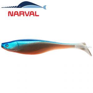 Мягкие приманки Narval Commander Shad 12sm #001 Blue Back Shiner (4 шт в уп)
