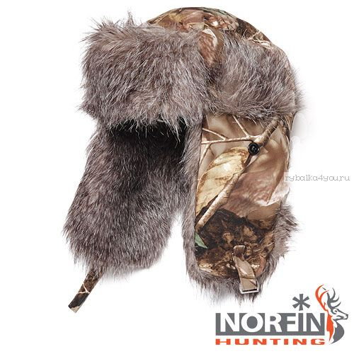 Шапка-ушанка Norfin Hunting 750 Passion