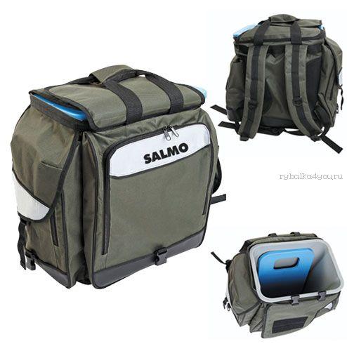 Ящик-рюкзак рыболовный  Salmo 3 в1 H-2061