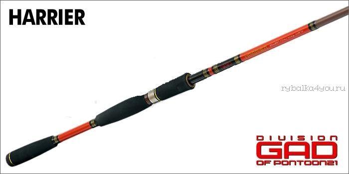Спиннинг Pontoon-21 GAD-P21 HARRIER HRS662ULF (198 см 1-7 гр)