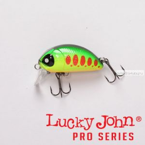 Воблер  LJ Pro Series HAIRA TINY 33F цвет 201 / до 0,2 м Shallow Pilot
